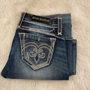 Rock revival Adele easy boot jeans